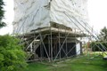 Roundhouse in scaffolding
