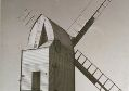 Argos Hill Windmill in 1937. Photo taken by George Benn White.